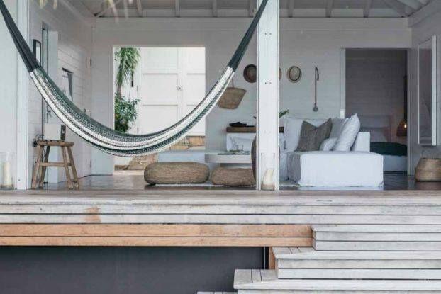 Beach house veranda