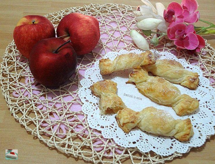 Ricetta caramelle di pasta sfoglia e mele Divertirsi in cucina