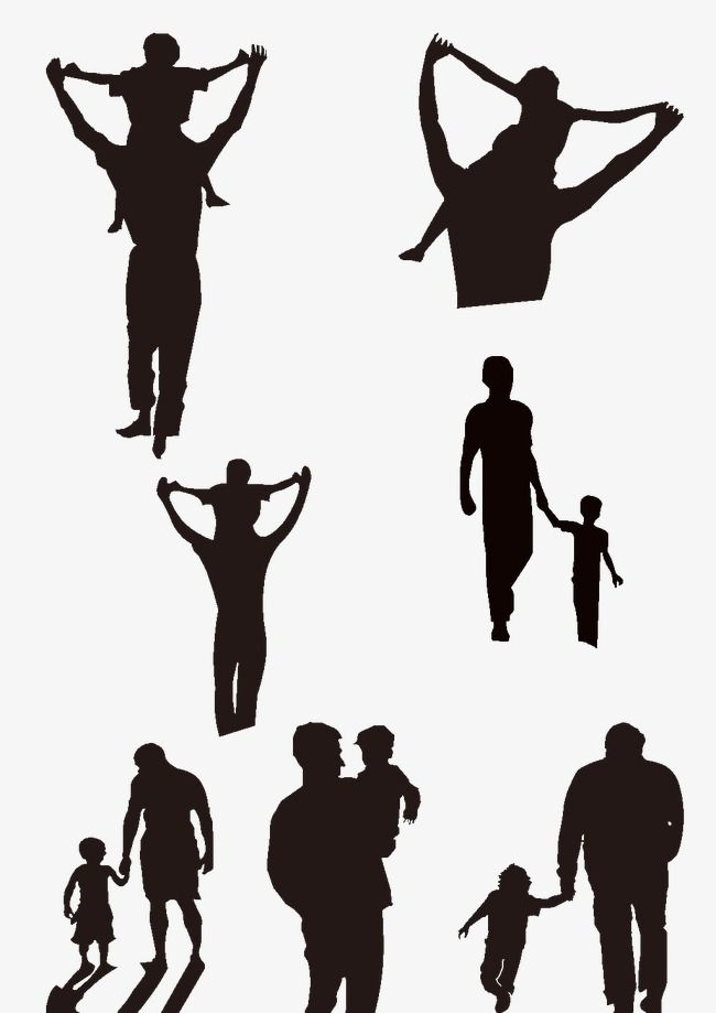 Silhouette Of Father And Son Tattoo For Son Tattoos For Daughters Father Son Tattoo