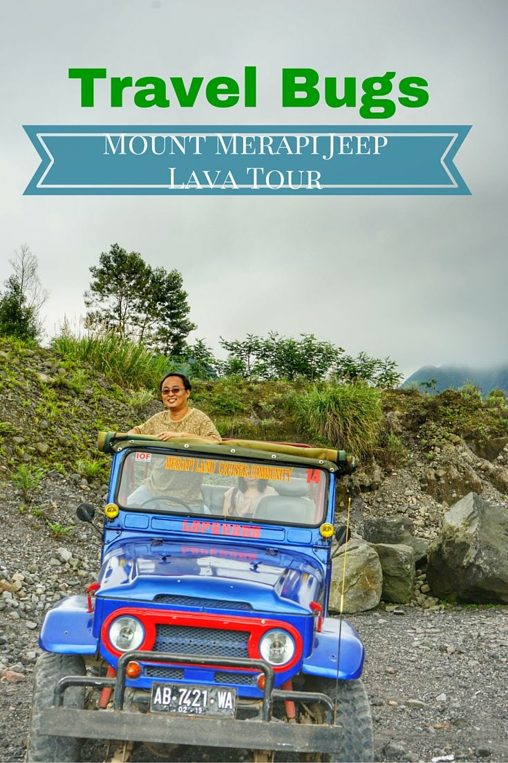 Take a jeep tour at Indonesia volcanic holy mountain, Mount Merapi!