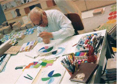 Gio Ponti, pencil in hand