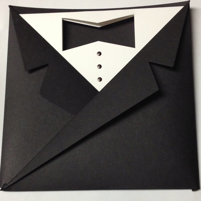 "Ashley's Prom ""ticket holder/announcement"". It's a ""black tie affair""."