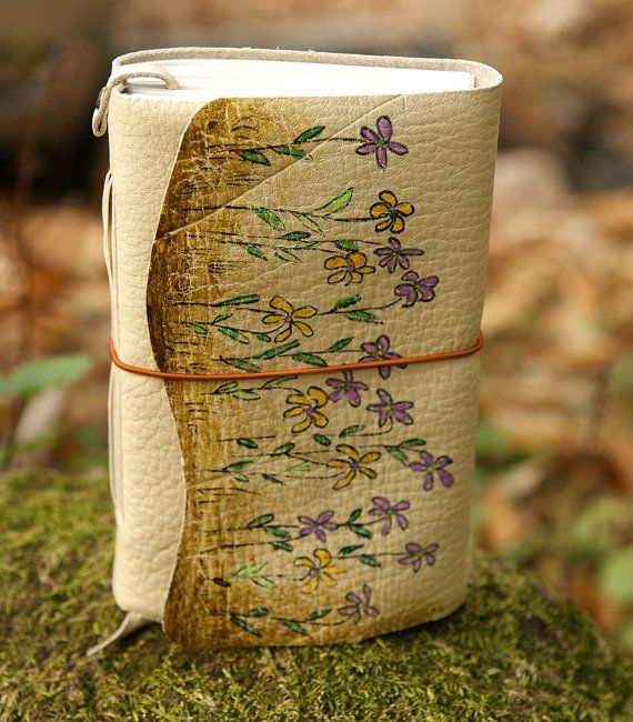 craftSOO Leather journal Hand bound leather journal by craftSOO