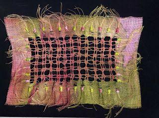 Art of Stitch: Chapter 6 Drawn Thread Work Stitchery