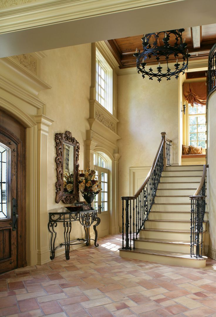 Entrance And Foyer : Best images about iron spindles on pinterest wood