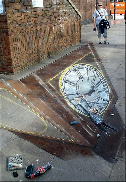 : Chalkart, 3D Chalk, Chalk 3D, Chalk Drawings, Sidewalks Art, 3D Street, 3D Artworks, Street Art Graffiti Chalk Art, Streetart