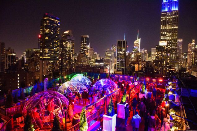 Rooftop Bars In Nyc Open In Winter Best Indoor Heated Rooftop