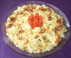 Vegetable Pulav Recipe from givoli.com