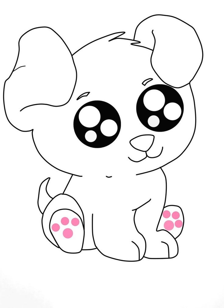 cute pictures of puppies to draw - Google Search | Puppy ...