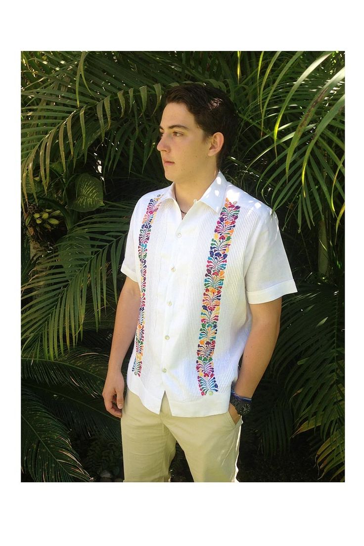 Authentic Mexican Guayabera
