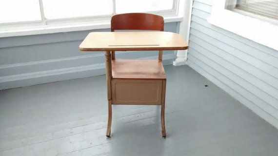 Check out this item in my Etsy shop https://www.etsy.com/listing/256617556/sale-school-desk-kids-desk-and-chair