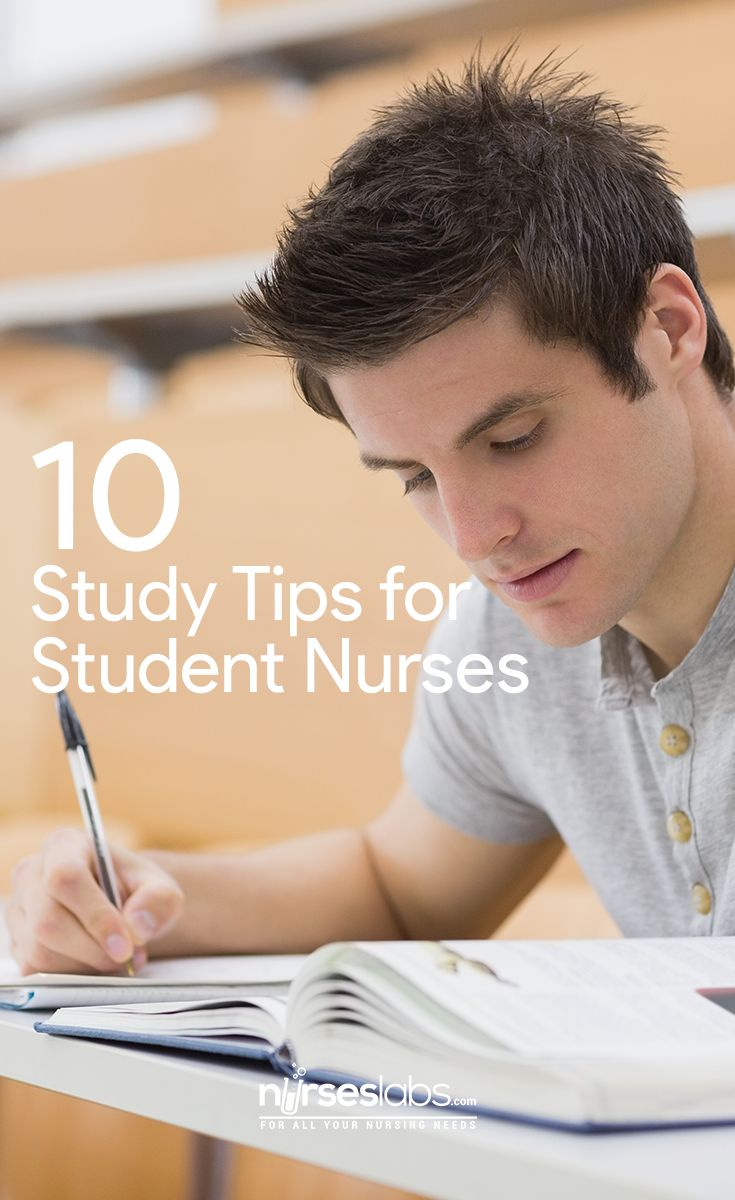 10 Study Tips for Student Nurses Studying during nursing school isn't like normal studying. Typically, in high school, one could remember enough information from class to pass the tests. Maybe a tiny amount of studying was necessary? Nursing lectures are different. You are left with a headache, your head so full of information that nothing makes sense. It's impossible to remember everything. Alas, studying has become necessary. With that said, I learned how to study in nursing school so that