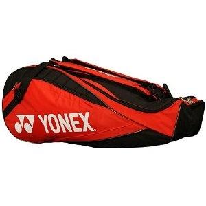 Yonex 2010 Tournament Red 6 Pack Tennis Bag (Misc.)  B0038KSAJC  localtenniscourt.com