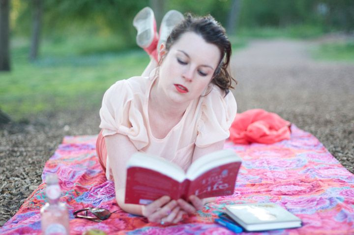 NEW POST ! #DIY portable picnic blanket practical and glamourous for the perfect picnic in the park !