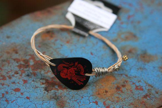 Sirene umgewidmet Guitar String Armband