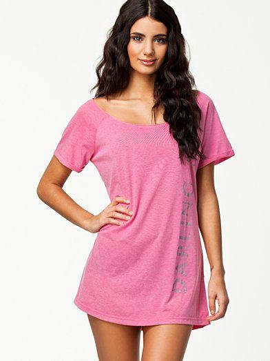 Holly Sleep Top - Darling S. - Rosa - Nattplagg - Underkläder - Kvinna - Nelly.com