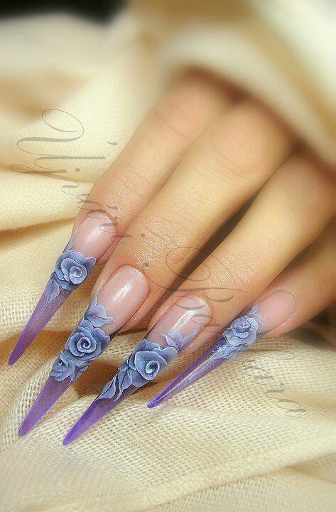 By Barbara Ujvari #nailart #3d #nails - Repinned by www.naildesignshop.nl