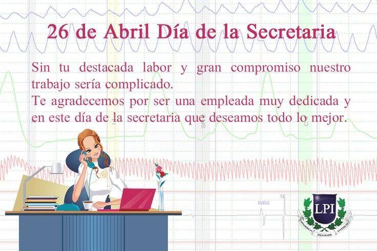 26 de Abril, Día de la Secretaria