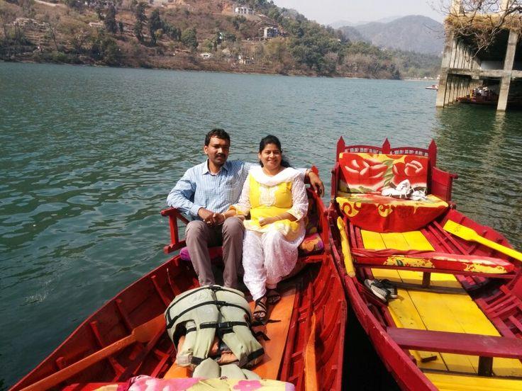Boating Bheemtal Lake