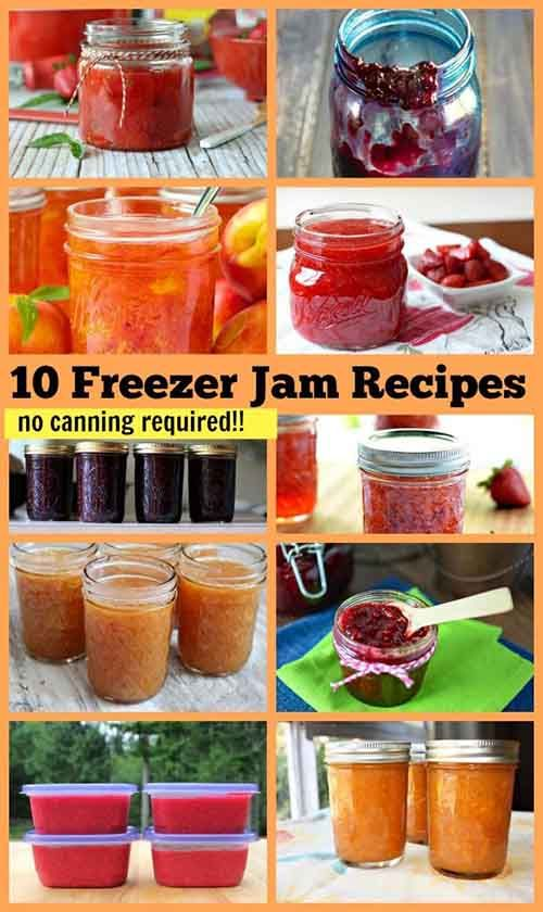 10 Easy Freezer Jam Recipes, No Canning Required