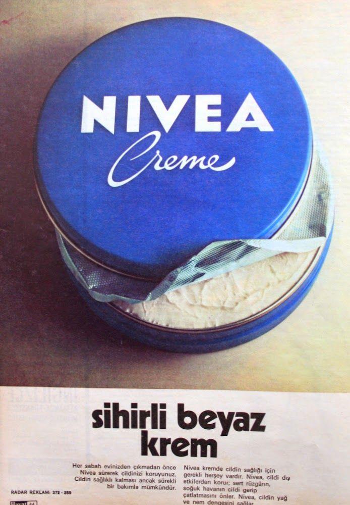 OĞUZ TOPOĞLU : nivea krem 1975 nostaljik eski reklamlar