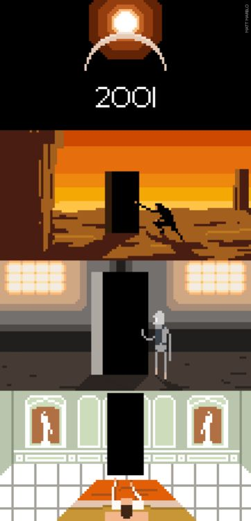 Look Dave, I can see you're really upset about this. I honestly think you ought to sit down calmly, take a stress pill, and think things over.  8-bit 2001: A Space Odyssey illustrated byMatt Marblo:: viawolfentir.deviantart.com
