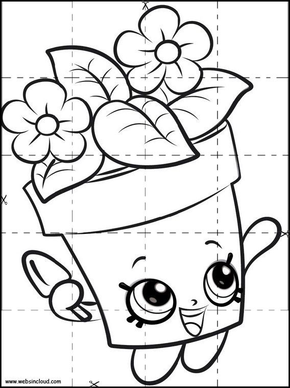 Puzzle A Imprimer Pour Enfants Shopkins 1 Coloriage Animation Pour Personnes Agees Animation Ehpad