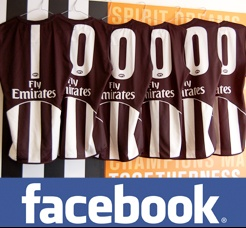 Collingwood was first AFL team to 100,000 Facebook fans in Oct 2010, six weeks earlier 55,000 Facebook fans.