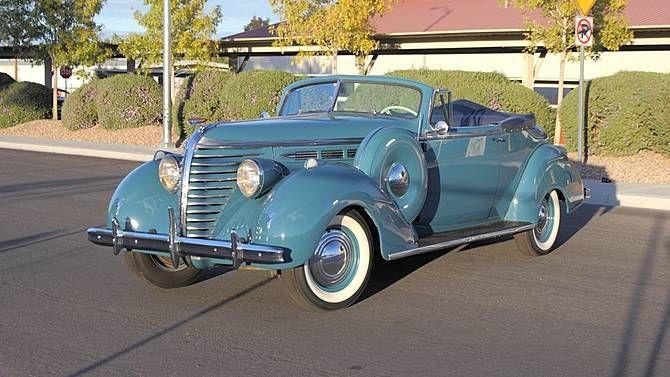 1938 Hudson Six Convertible Brougham