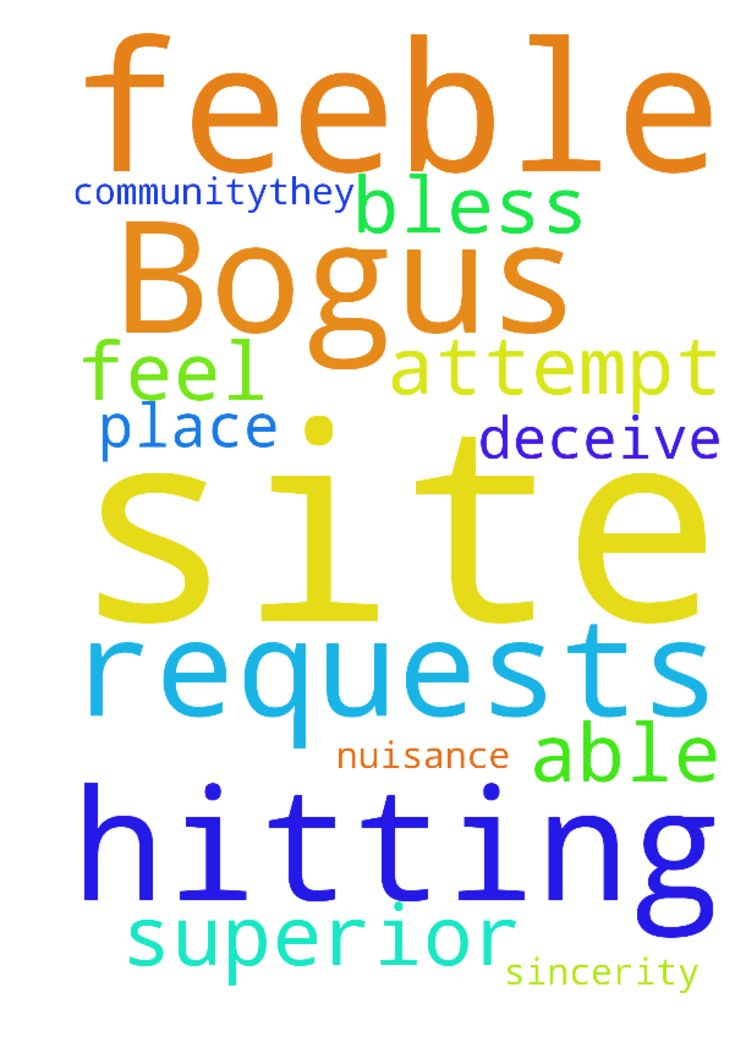 Bogus prayer requests are hitting this site, a feeble - Bogus prayer requests are hitting this site, a feeble attempt on the sincerity of this community...they will not deceive in Jesus name but they are a nuisance. If you feel to and able to, bless this place in the superior name of Jesus Posted at: https://prayerrequest.com/t/nSZ #pray #prayer #request #prayerrequest