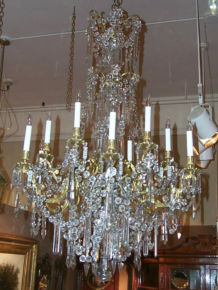106 best Chandeliers images on Pinterest | Crystal chandeliers ...