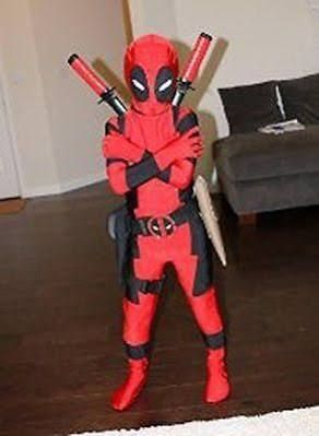 kid deadpool costume - Google Search