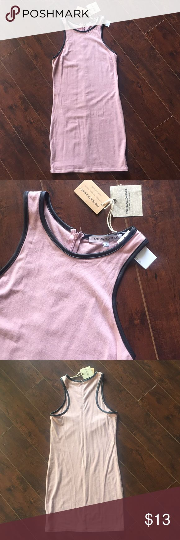 NWT Foreign Exchange Body Con Dress NWT Foreign Exchange Body Con Dress. Perfect for Fall paired with booties and heels! Foreign Exchange Dresses