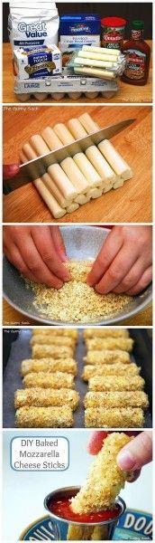 Baked Mozzarella Bites « Can Be Dun