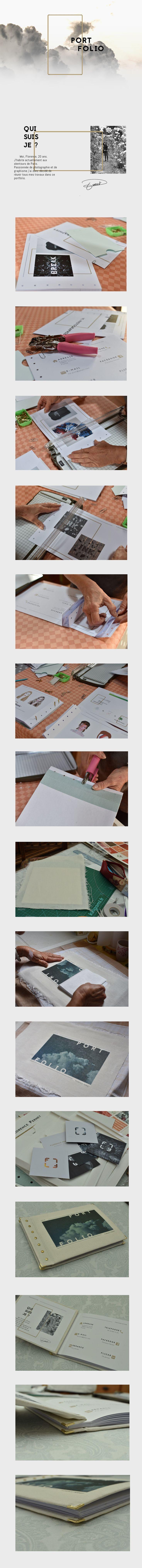 Portfolio Printed // Personal Identity // on Behance
