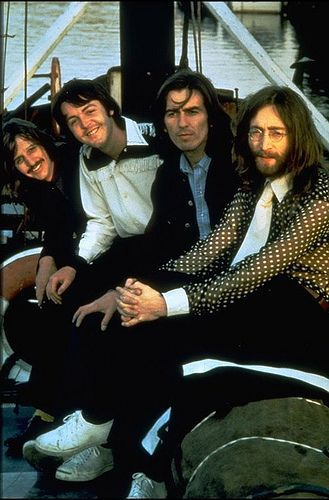 Ringo, Paul, George and John. Or as I call them, Ringsy, Macca, Geo and Johnny.