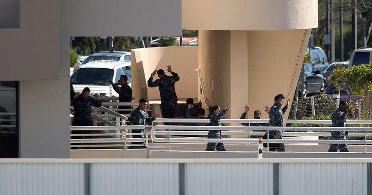 San Diego Naval hospital on lockdown #Cronaca #iNewsPhoto