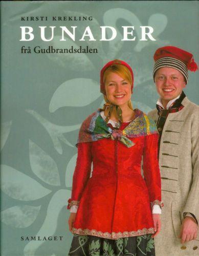 Norwegian Bunads from Gudbrandsdalen Book Norway Norge Scandinavian