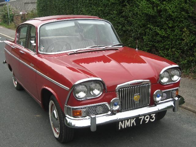Humber Sceptre MKI. Had one of these once. Wish I still had it.  Bench seats, gear-change on the steering column, and it loved hills.