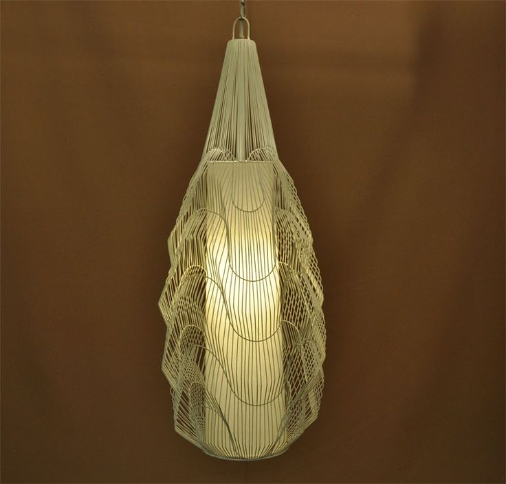Volute Spindle Pendant Series   An Elegant Lamp Where The Artisans  Meticulously Bend Each Piece Of