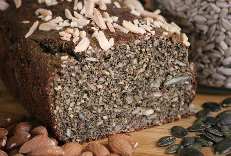 PALEO Mandelbrot mit Hanfmehl GLUTENFREI   Zeitlos-Brot