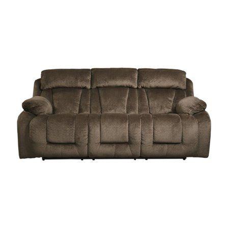 ashley stricklin power reclining sofa in chocolate recliningsofa rh pinterest com