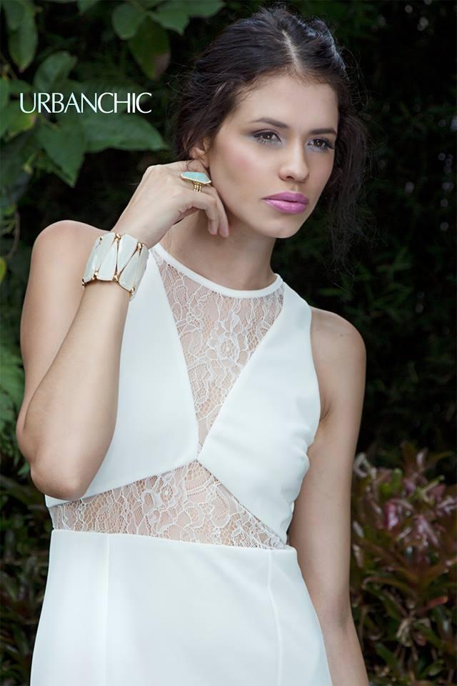 Vestido blanco con transparencia! Urban Chic