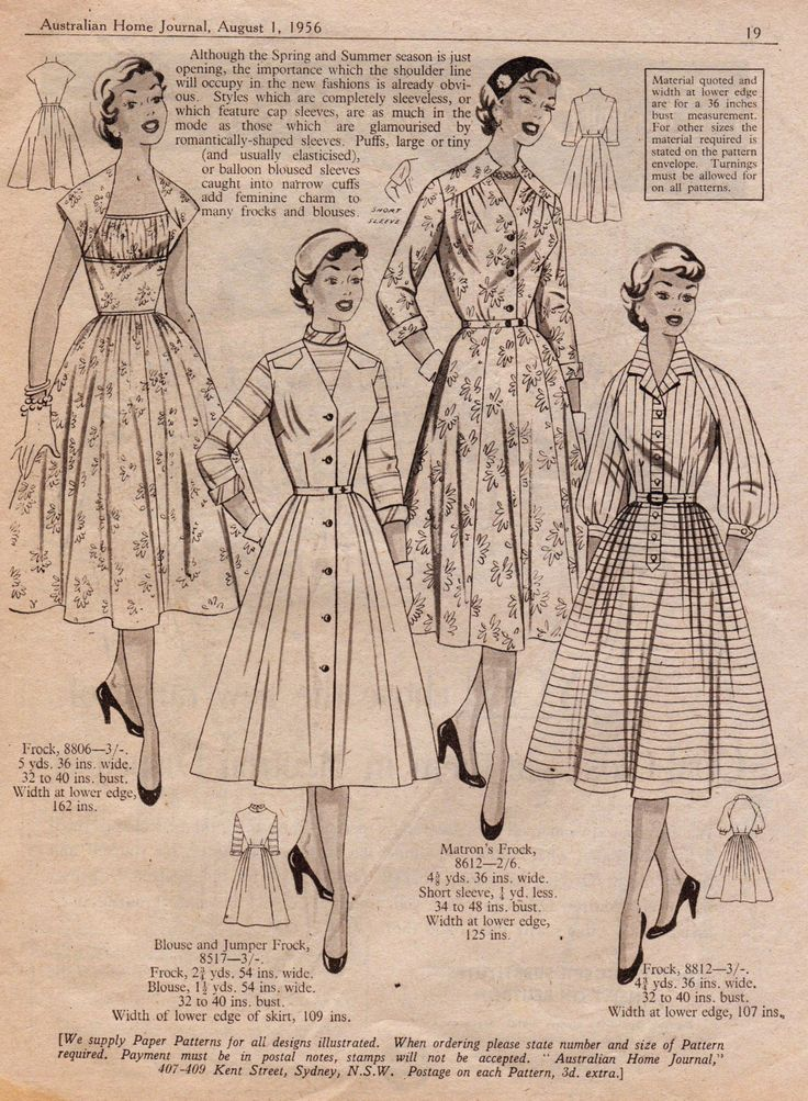 Printable image /  Vintage Advertising Image / 1954 / Women's Spring Fashion 1950's/ Digital Paper / Post Free Digital Download by KarenLawsonArt on Etsy