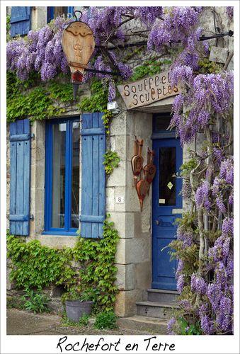 Rochefort, France | ... plan hotel village de Rochefort-en-Terre 56220 - Cartes France.fr