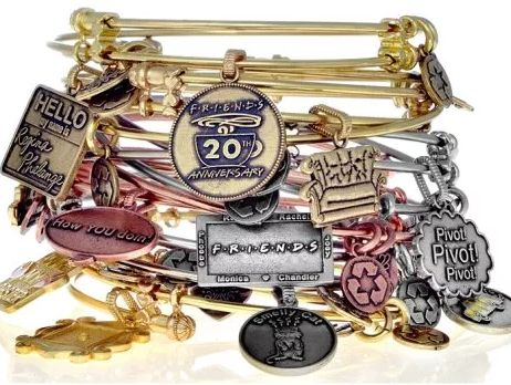Get these #Angelica #bracelets to celebrate #FRIENDS 20th anniversary at #OakRidgeJewelers