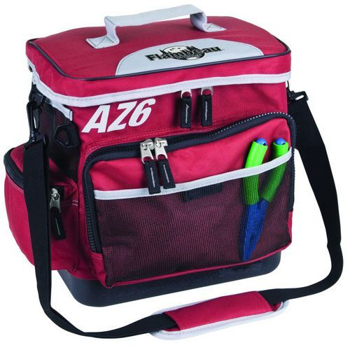 Flambeau Top Load Soft-Side Large Tackle Bag Red - Fishing Equipment, Soft Tackle Bags at Academy Sports