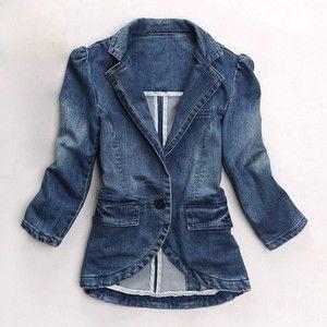 13 best Denim jackets images on Pinterest