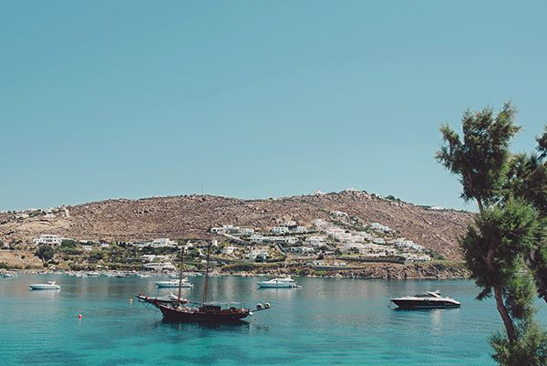 Coral red wedding in Mykonos | Margarita & Maxim - Love4Wed