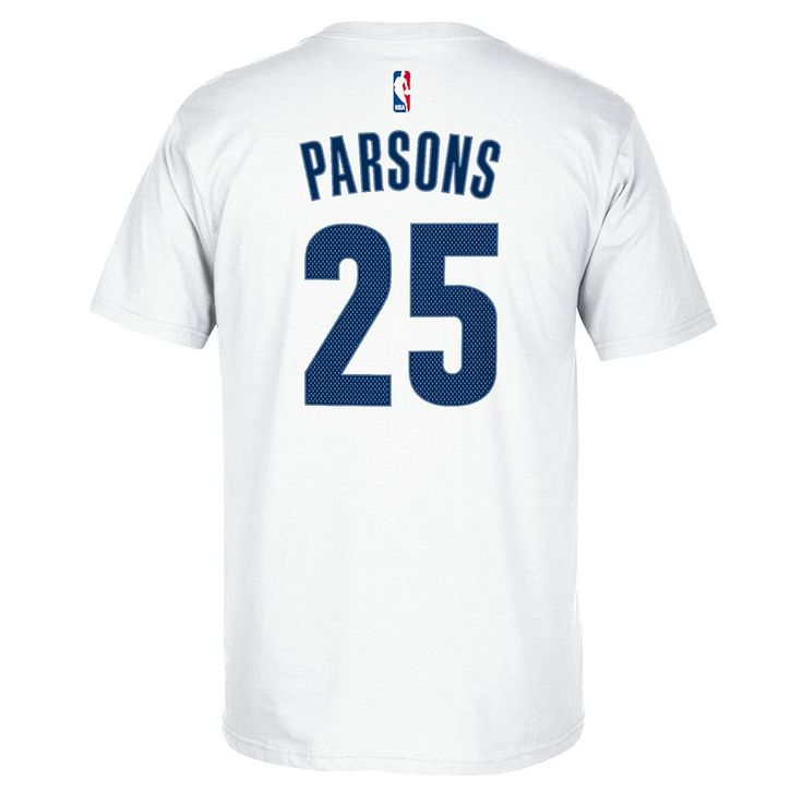Men's Adidas Memphis Grizzlies Chandler Parsons Player Tee, Size: Medium, White